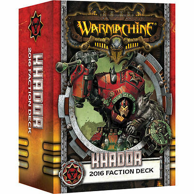Warmachine: Khador 2016 Faction Deck PIP 91105