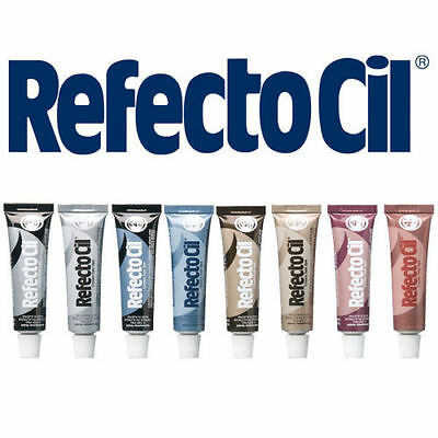 Refectocil Professional Eyelash and Eyebrow Tint Cream Dyes 15ml