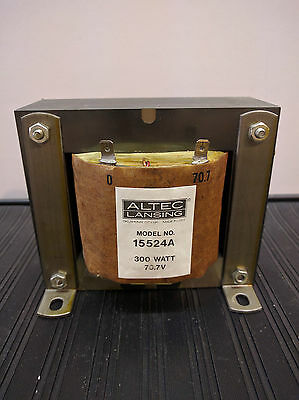 Altec Lansing Transformer 15524A 300Watt 70.7V