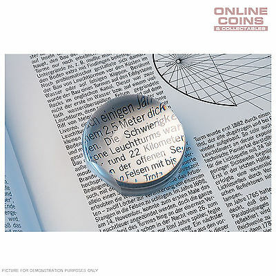 Lighthouse Spherical Bright-Field Magnifier 3 x Magnification -Fisheye Magnifier