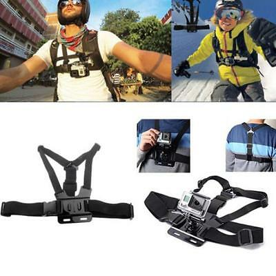 Camera Go Pro Body Harness Chest Belt Strap Mount SJ4000 Gopro Hero 2 3 3+ 4