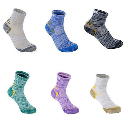 2Pairs/Pack Outdoor Hiking Run Work Men Women Socks Summer Quick-dry Boot Socks