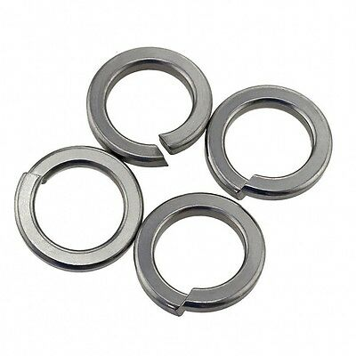 M2-M20 Split Lock Washers Spring Washers All Size From A4 316 Stainless Steel