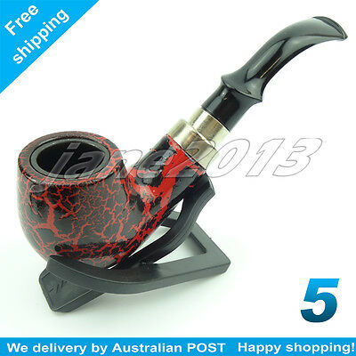 NO-5 PIPE Chang Feng Sherlock Homes Style Durable Tobacco Pipe   For Father Day