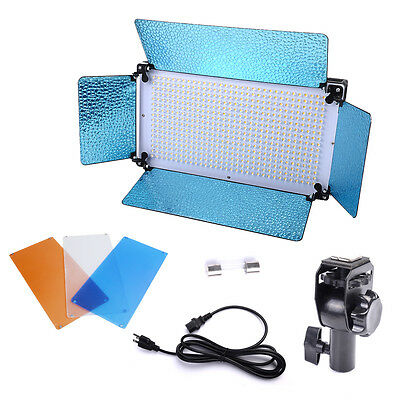 Portable 500 LED Light Panel Photo Video Studio Portrait Dimmer Lighting Panel