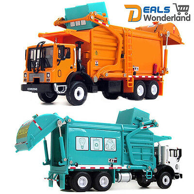 Toy 1/24 Scale Diecast Vehicle Material Transporter Garbage Truck Construct