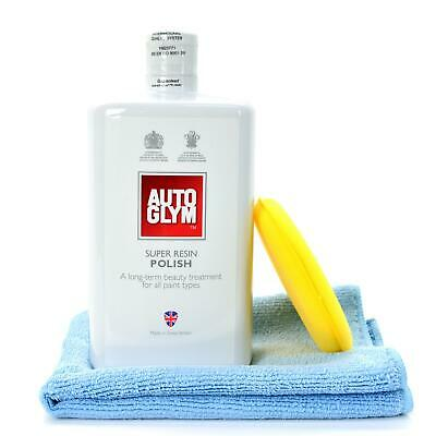 Autoglym Super Resin Polish 1L / 1000ml + Microfibre Cloth and Applicator Pad