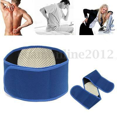 Magnetic Heat Waist Belt Brace For Lower Back Pain Relief Therapy Support