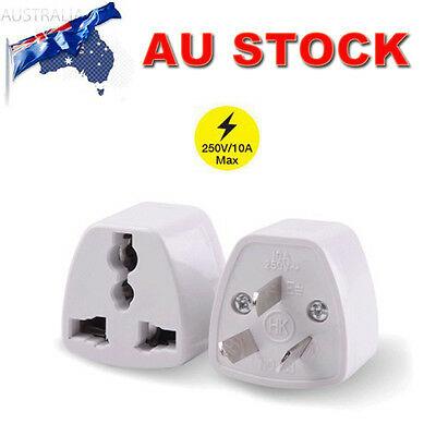 3 PIN Universal Australian US EU UK to AU Power Plug Travel Adapter Converter