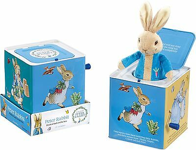 Peter Rabbit Muscial Jack in the Box Toddler/Child Fun Toy