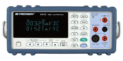 BK Precision 5491B True RMS Bench Multimeters110/220V  US Authorized Dealer/ NEW