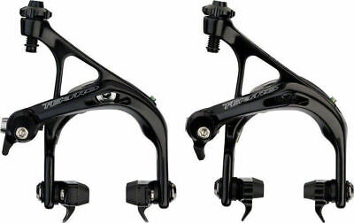 Tektro Tk-R741 Road Bike Dual Pivot Brake Calipers Front & Rear Set Black