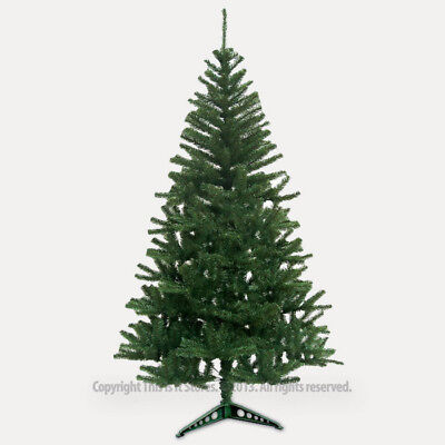 Traditional Green 6ft Christmas Tree Artificial Indoor Angel Pine Xmas Trees