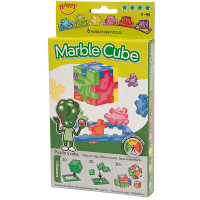 Happy Cube: Marble Cube 6er-Pack