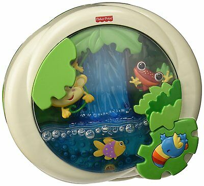 Pre-owned Fisher-Price Rainforest Peek-a-Boo Soother, Waterfall