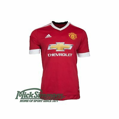 Official Manchester United 2015/16 Men's Home Football Jersey by adidas