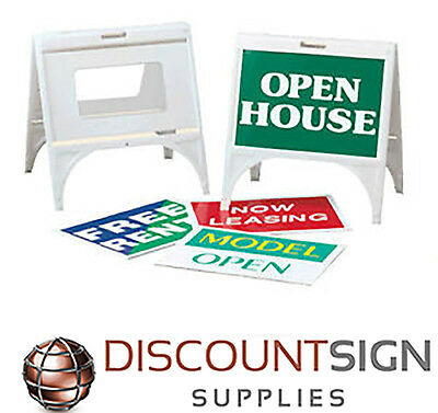 A FRAME METAL Stand for OPEN HOUSE SIGN for Realtor 18x24 Black ...