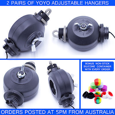 2 Pairs Yoyo Adjustable Light Reflector Hangers*genuine Australian Seller
