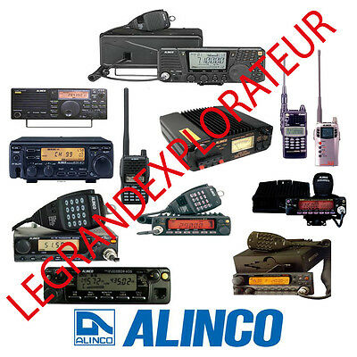 Ultimate  Alinco Radio  Operation Repair Service manual   220 PDF manuals on DVD