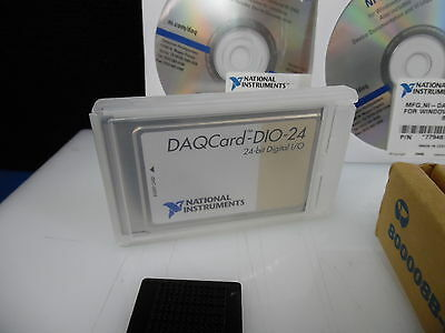 National Instruments NI DAQCard-DIO-24 24-bit Digital I/O PCMCIA Card