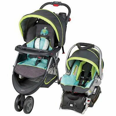 Baby Stroller And Car Seat Combo Travel System Pram Pushchair Toddler Strollers