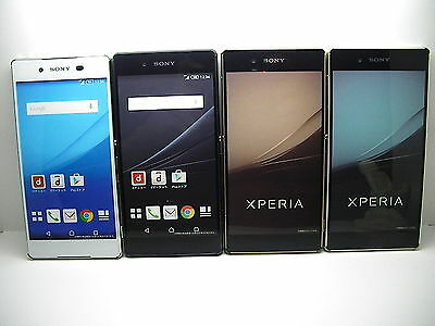 NTT-docomo SO-03G Xperia-Z4 SONY JAPAN Non-working Display Phone 4 color set