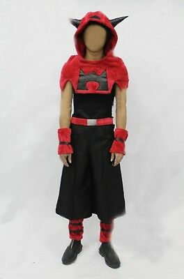 Pokemon Team Magma cosplay costume male