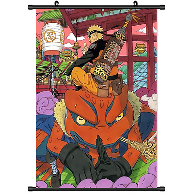 Hot Japan Anime NARUTO  Wall Poster Scroll Home Decor 552