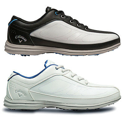 46% OFF Callaway Golf Womens 2016 Playa Ladies Leather Golf Shoes - Waterproof