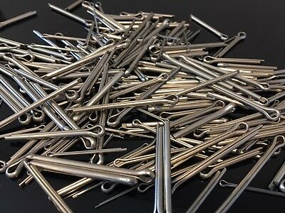 Assorted Metric A2 Stainless Steel Split Cotter Pins 250 Pcs - Kit SCPL