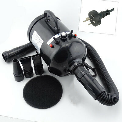 Low Noise - 2800W Stepless Speed Pet Dryer Dog Grooming Blower Cat Hairdryer