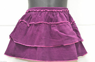 Girls Purple Knee Length Skirt From M&S Marks And Spencer UK Age 12 - 18 Months