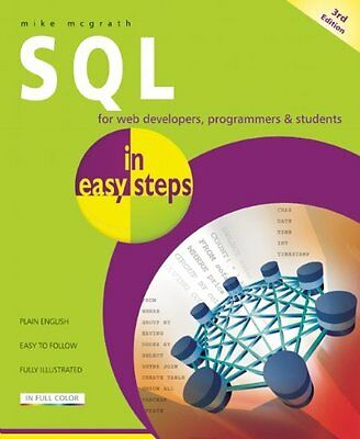 SQL in Easy Steps,PB,McGrath, Mike - NEW