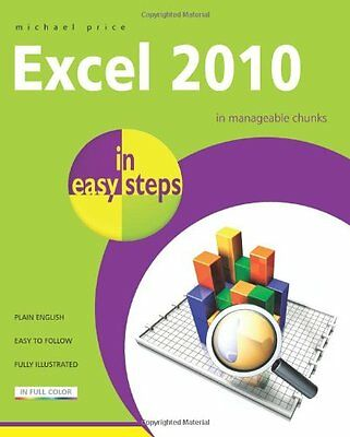 Excel 2010 in Easy Steps,PB,Michael Price - NEW