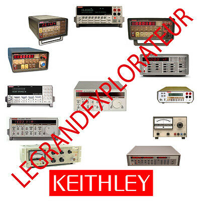 Ultimate  KEITHLEY  Repair Service Maintenance & Owner Manuals (Manual s on DVD)