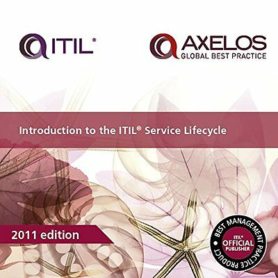 Introduction to the ITIL Service Lifecycle,PB- NEW