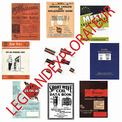 Ultimate RF Shortwave Radio Coils Winding Manuals eBooks  PDFs book manual s DVD