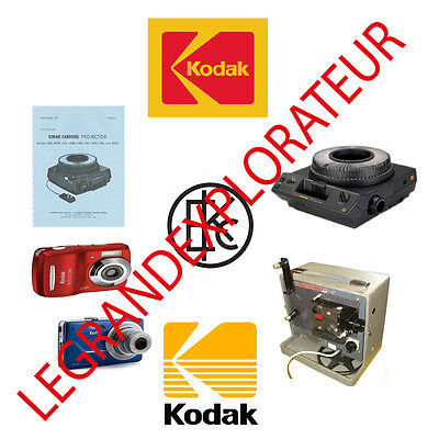 Ultimate  Kodak  repair parts and service manuals  (70 PDFs manual s on DVD)