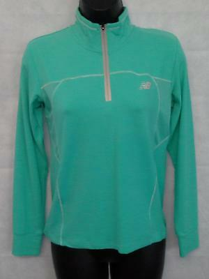 Girls New Balance Long Sleeved Top Zip Size 12 Years Old Brand New #1153