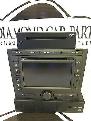 2006 Ford Mondeo Radio/cd Player Sat Nav Touch Screen+Wiring 5S7T-18B988-Af