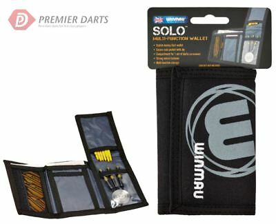 Winmau SOLO Darts Wallet Accessory Case Dart Stem Flight Holder & Money