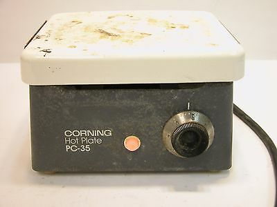 "Corning Hot Plate PC-35, tested & heats very quickly, 6"" x 7.25"""