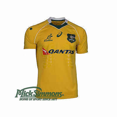Wallabies 2016 Men's Rugby Jersey by Asics