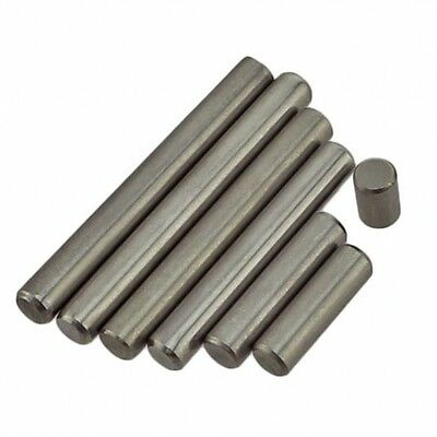 M5 x 10mm-50mm Metric Solid Dowel Pin Rod Position Pins A2 304 Stainless Steel