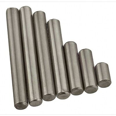 M4 X 6Mm-50Mm Metric Solid Dowel Pin Rod Position Pins A2 304 Stainless Steel