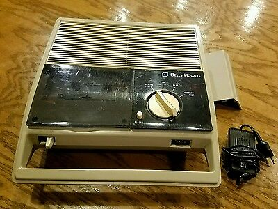 VINTAGE-Bell & Howell Dictation Machine Tape Recorder player 2392A ..Microphone