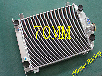 70mm aluminum alloy radiator Ford truck/pickup with flathead V8 motor AT 1932