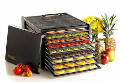 Excalibur Tray Food Dehydrator Jerky Fruit Electric Dryer Stainless Steel Maker