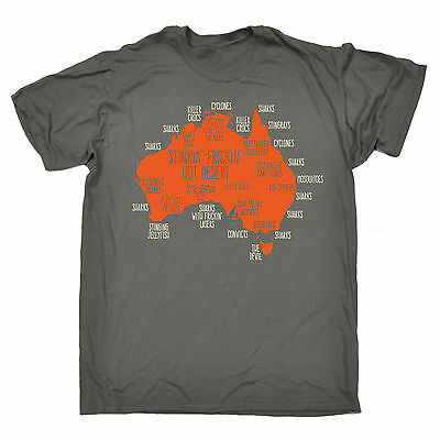 Australia Explained T-SHIRT tee down under ozzie funny birthday gift present him