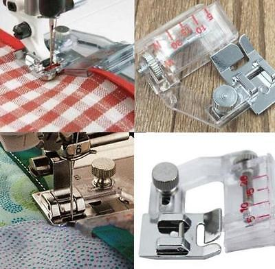 DZ1121 Snap On Adjustable Bias Tape Binding Foot Brother Janome Sewing Machine♫